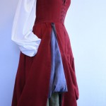 Tudor Woman's Kirtle from 1520