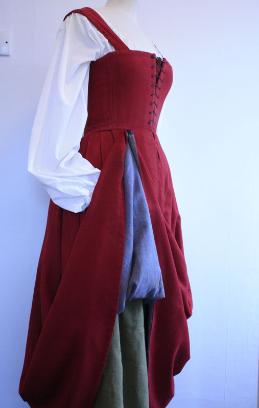 Tudor Womans Kirtle From 1520 Janet Comber Time Tailor