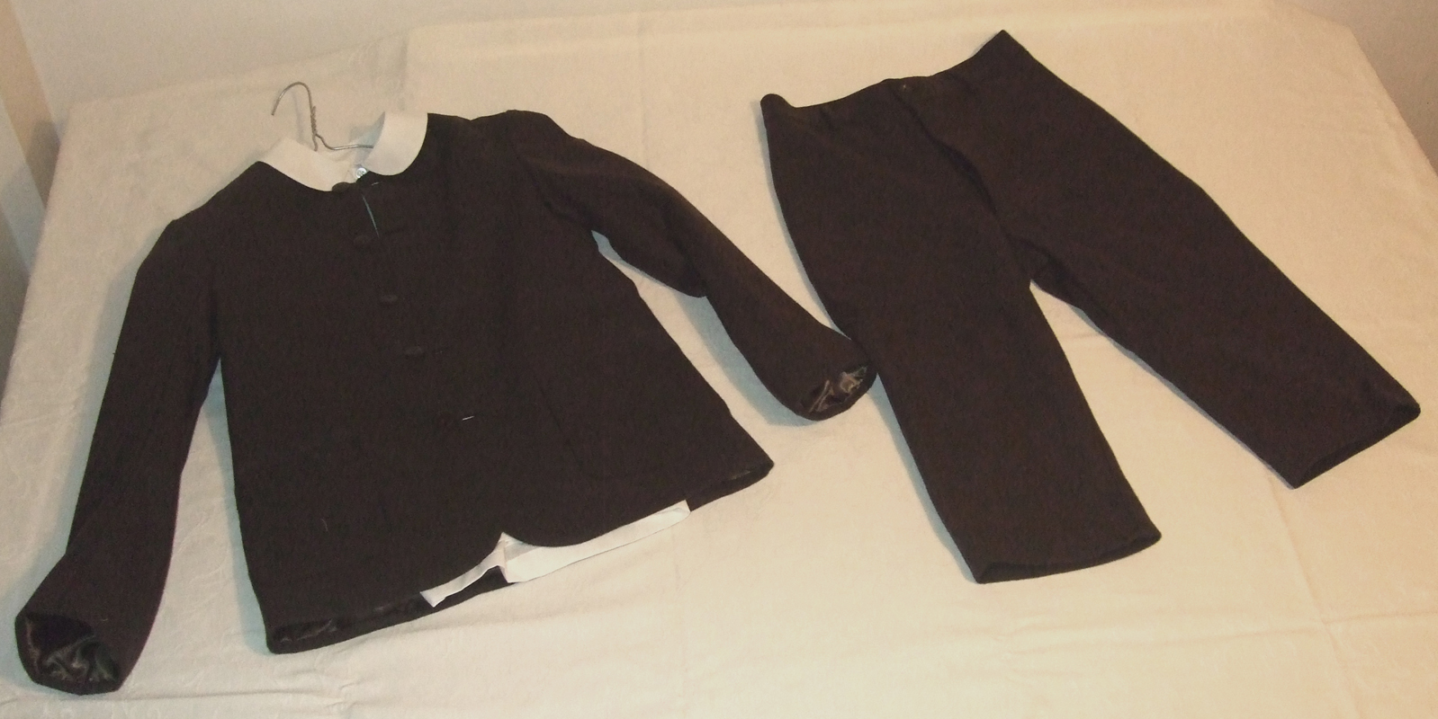 Victorian Schoolchildren outfits made for The museum of London.