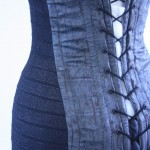 1920's inspired corset