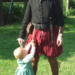 Man and childs costume from 1560