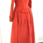Victorian Dress back